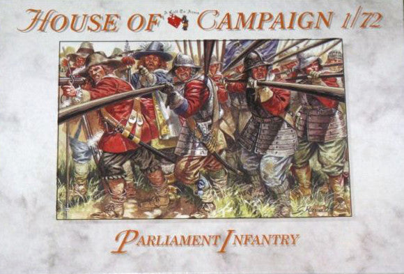 A Call To Arms - Parliament infantry - 1:72