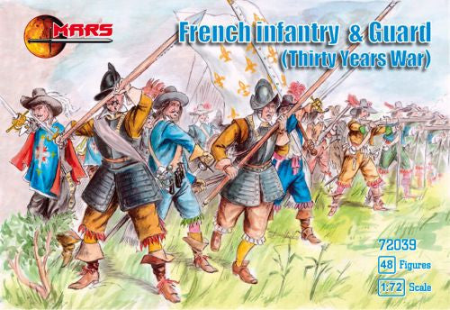 Mars - French infantry & guard - 1:72