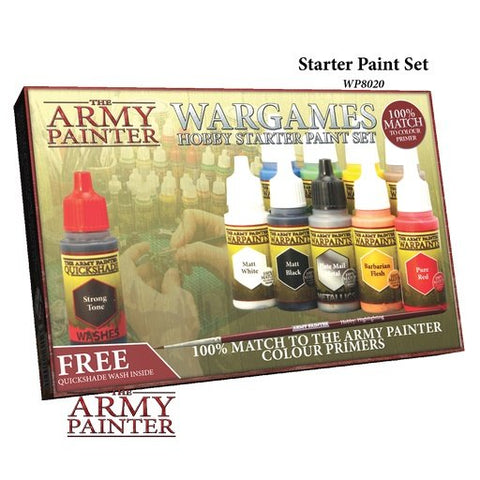 Army Painter - AP-WP8020 - Wargames Hobby Starter Paint Set