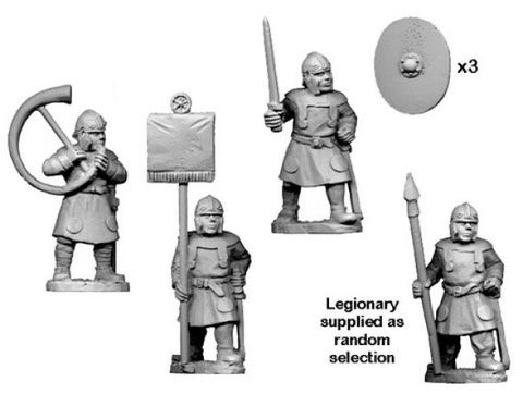 Ancients RFA004 - Late Roman Legionary Spearmen Command