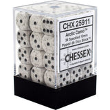Chessex - Arctic Camo - d6 dice block (12mm) - 25911