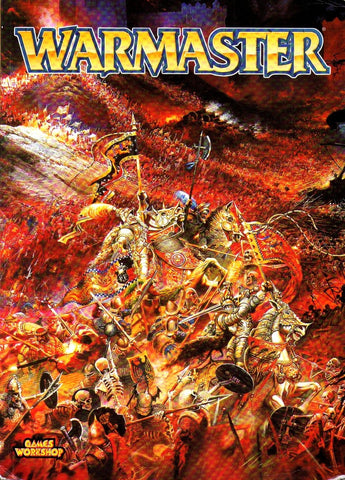 Rules - Games Workshop - Warmaster Rule Book (Rick Priestley)