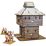 4GROUND - Log timber blockhouse - 28mm - 28S-AML-103