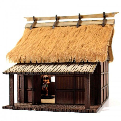 4GROUND - Shogunate Japan - Peasant labourer's dwelling - 28mm - 28S-EDO-102