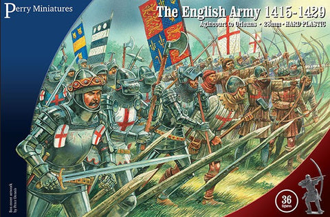 Perry - AO40 - The english army 1415-1429 - 28mm