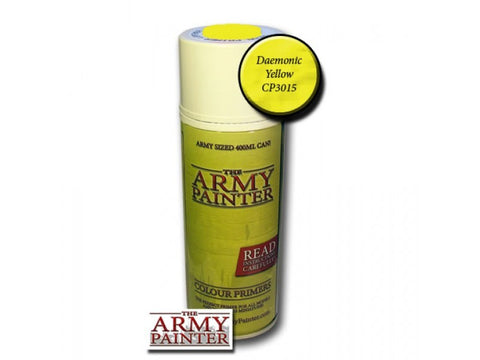 The Army Painter - Color primer Daemonic yellow - 400ml