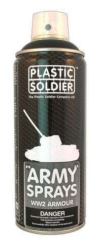 Plastic Soldier - Early War German Panzer Grey - 400ml - PSCSP002