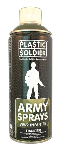 Plastic soldier - German Field Grey - 400ml