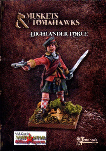 Muskets and Tomahawks - Highlander Force - 28mm