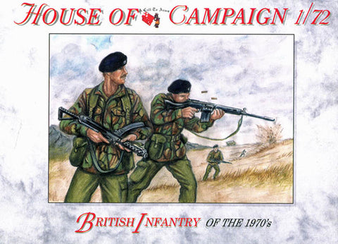 A Call To Arms - British infantry of the 1970's - 1:72
