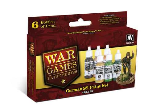 Vallejo - German SS paint set