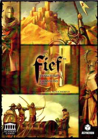 Boardgame - Fief: France 1429 (Expansions Pack)