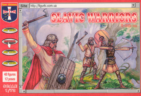 Orion - Slavic warriors 6-8th cc - 1:72