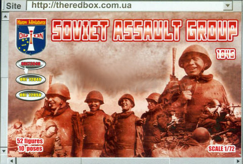 Orion - Soviet Assault group 1945 - 1:72 - ORI72048