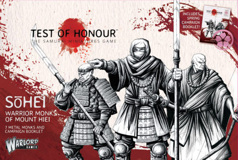 Warlord Games - Test of Honour - Sohei warrior monks of mount hiei - 28mm