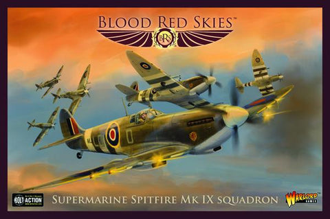 Blood Red Skies - Supermarine Spitfire Mk IX squadron - WG-772212004