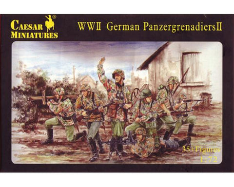 Caesar miniatures - WWII German Panzergrenadiers II - 1:72