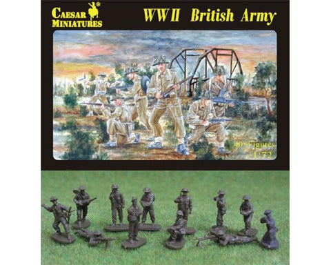 Caesar miniatures - WWII British army - 1:72