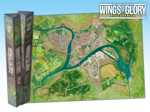 Ares Games WGA502E - Wings of Glory - Game Mat Industrial Complex