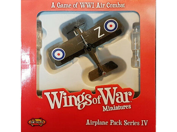 Wings of War: Airplane pack series IV - R.A.F. SE5A (Bishop) - 1:144