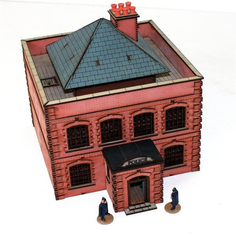 4GROUND - White chapel to bakers street Police Station (Victorian period) - 28mm