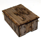 4GROUND - Timber outhouse/Stores - 28mm - 28S-TAO-104