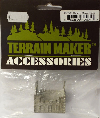 Terrain Maker Accessories - Bombed Out Manor House - 1:285