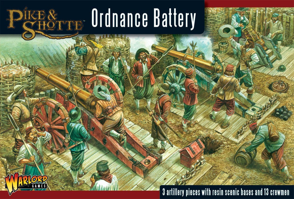 Pike & Shotte - WGP18 - Ordnance Battery - 28mm