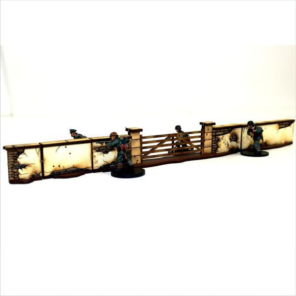 4GROUND - 28S-TAO-102 - Short & gated walls - 28mm