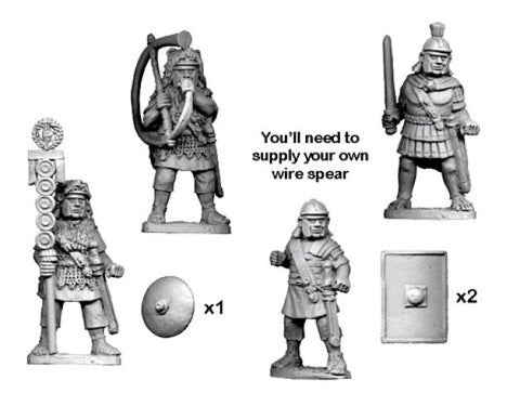 Ancients RFA034 - Middle Imperial Roman Legionary Command