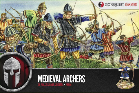 Conquest Games - Medieval Archers - 28mm