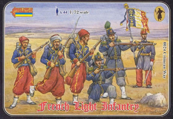 Strelets - Crimean French light infantry - 1:72 - 0024