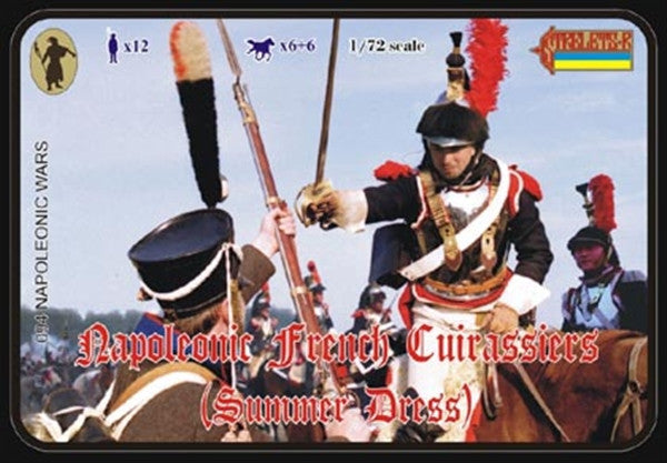 Strelets 0094 - Napoleonic French Cuirassiers (Summer Dress) - 1:72