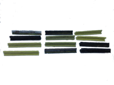 Wargame UNPAINTED USED Scenery ES81 Wall section 6-10mm