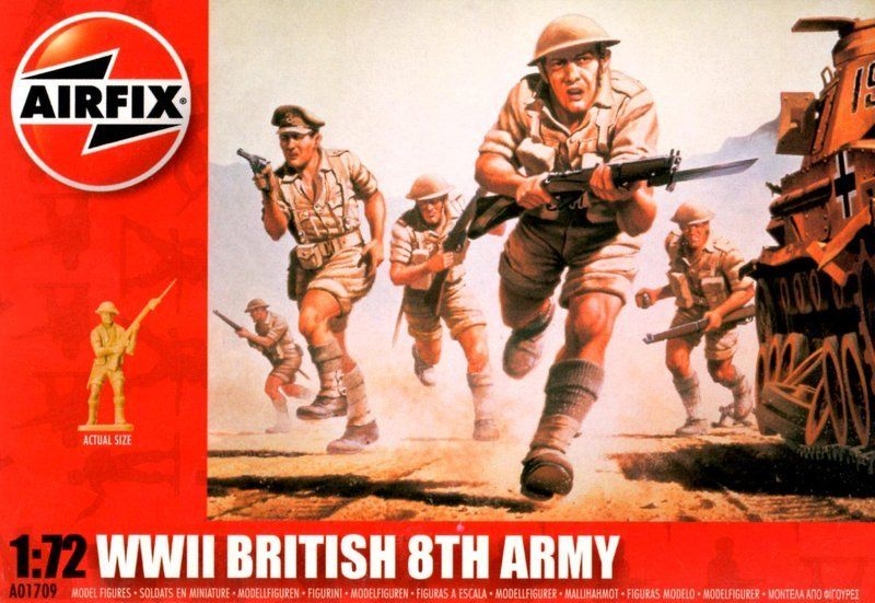 Airfix - WWII British 8th army - 1:72