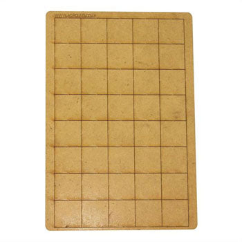 4GROUND - 40 Bases 25mm x 25mm - FB-2525