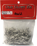 Old Glory - Union Marching - unpainted - 15mm - ACW2
