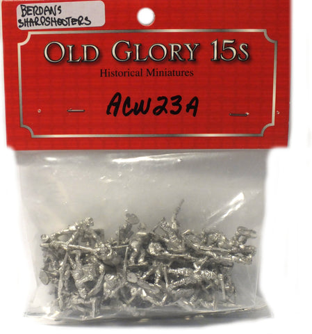 Old Glory - Berdans with Command - unpainted - 15mm