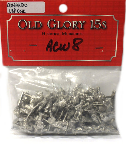 Old Glory - Union Infantry Command - unpainted - 15mm