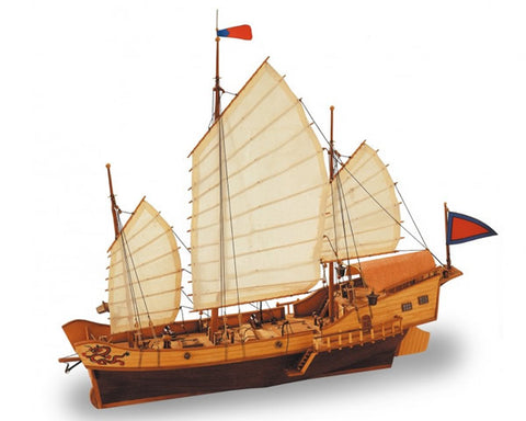 Artesania - AL18020 - Red Dragon - Chinese Junk - 1:60