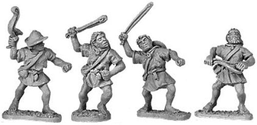 Xyston - Rhodian Slingers - 15mm - ANC20016