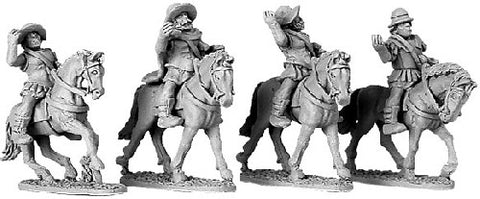 Xyston - Armoured Greek Cavalry with Petasos & Pilos - 15mm - ANC20026