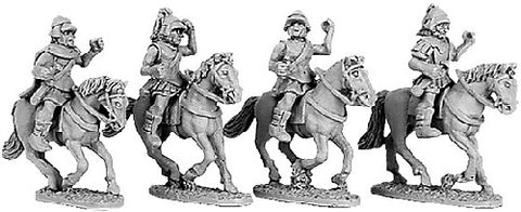 Xyston - Armoured Greek cavalry with Boiotian Helmets - 15mm - ANC20028