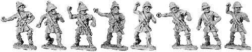 Xyston - Peltasts with Boiotian Helmets - 15mm - ANC20031