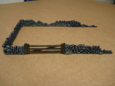 Armourfast - Stone Walls & Gate - 1:72