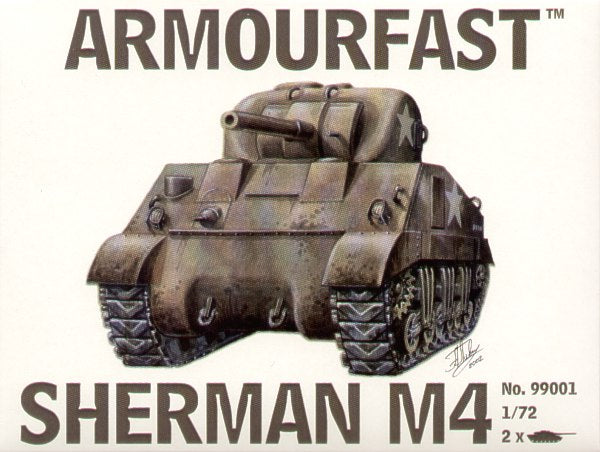 Armourfast - M4 Sherman - 1:72