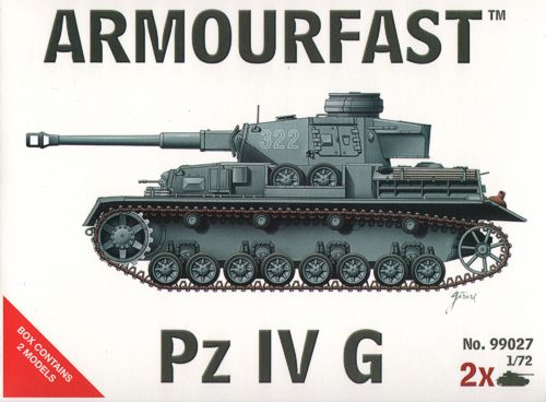 Armourfast - Pz.Kpfw.IV Ausf.G - 1:72