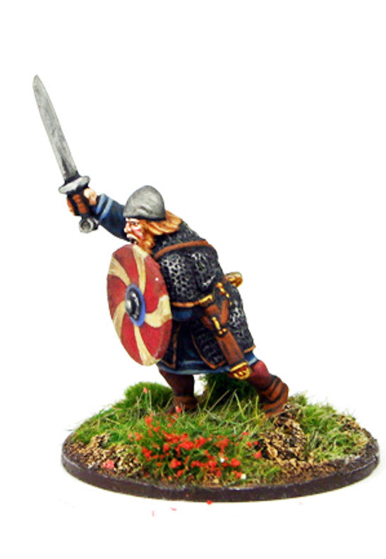 Gripping Beast - SX01a - SAGA - Anglo-Saxon Warlord a - 28mm