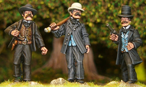 Artizan - Bat Masterson and Dodge City Marshalls - 28mm