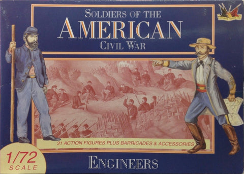 Accurate Figures Ltd. - Soldiers American Civil War - Engineers - 1:72